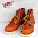 "RED WING CLASSIC WORK/6 ""MOC-TOE"