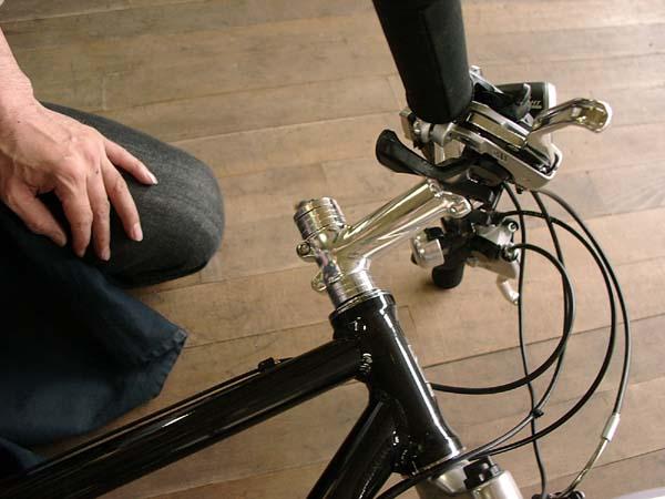 自転車の 自転車 ハンドル 高さ調整方法 : ... の構造と調整:自転車のトライ