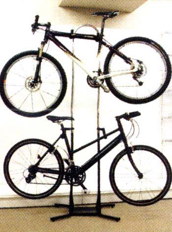 ... ラック(2台用):自転車の