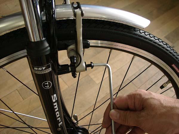 自転車の 自転車 調整 ブレーキ : 調整 方法 5 スプリング 調整 ...