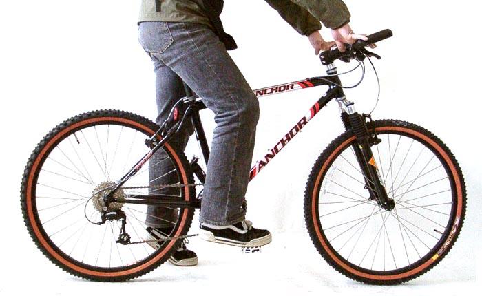 ... 自転車が届いたら:自転車の