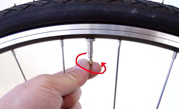 自転車の 自転車 空気 入らない 仏式 : ... 空気の入れ方:自転車のトライ
