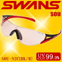 SWANS SOU-N2C black x red ◆ swans sunglasses fs3gm