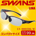 It is correspondence ♪ swans sunglasses for the sports that SWANS LUNA-N LN-0002 BK/R ◆ is wide
