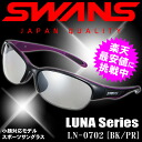 Swans sports sunglasses LUNA-M LN-0702 ◆ black / purple (BK/PR )◆ mirror lens ♪ SWANS10P06jul13)