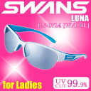 SWANS LUNA-M LN-0714 W/LBL ◇ LUNA series ◆ mirror lens model ice blue ♪ swans sunglasses fs3gm