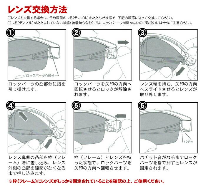 【レンズ交換方法】