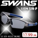 Swans sports sunglasses SWANS sunglasses LI SIN-0151 MGMR mens popular multi-coated polarized lens 10P12Sep14