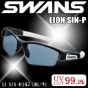 Swans sports sunglasses SWANS sunglasses LI SIN-0167 BK/W men's popular multi-coat ice blue polarizing lens