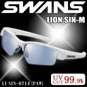 Swans sports sunglasses SWANS sunglasses LI SIN-0714 PAW men who like ice blue mirror lens