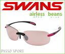 It is recommended for a mountain girl! Super lightweight sunglasses ♪ Airless-beans SABE-0709 BK/P ◆ swans sunglasses fs3gm