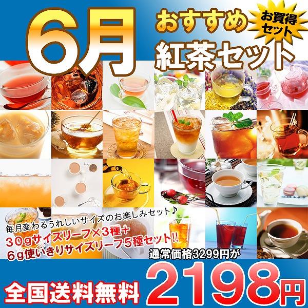 今月のおすすめ紅茶セット