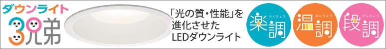大光電機 ダウンライト3兄弟