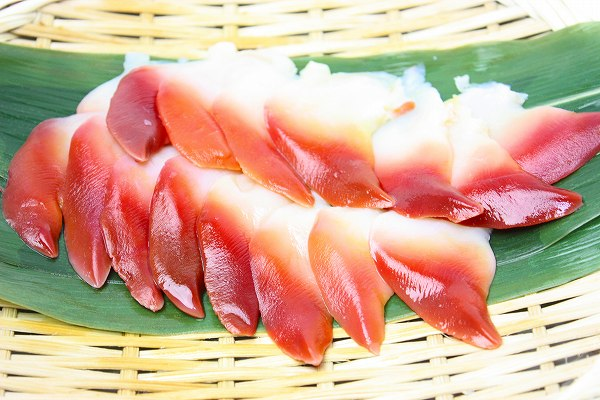 Hokki 20 sushi neta hokki for sashimi assorted sliced unzip sushi
