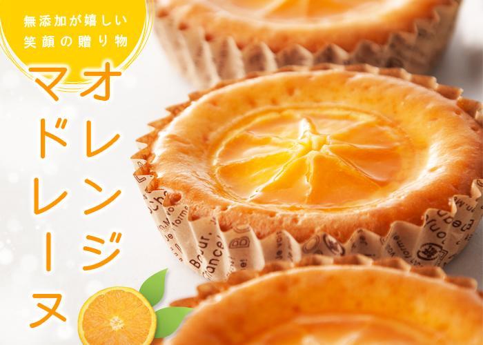 のマドレーヌオレンジ