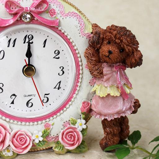 プードル 時計