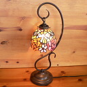 Stained glass lamp stained lamp hanging type 1 arm elegant Roses (patio Roses) 22 x h57