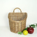 22.5*18* dish simmered in willow wall basket medium size h21 (to a handle 27cm)