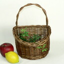 Boil Willow wall basket 18 x 10 x h16 ( up to handle 27 cm )