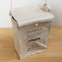 "30*28* storing box ""LONDON"" (newspaper stock storage) h40 with the jute news paper box cover"