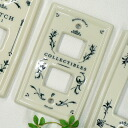 essence collectibles ceramic switch plate switch cover 1 hole 2 holes and 3 holes