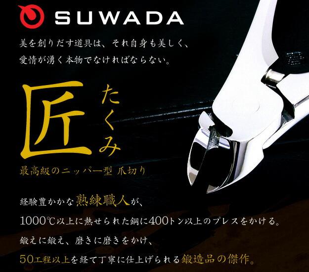 SUWADAのニッパー式爪切り