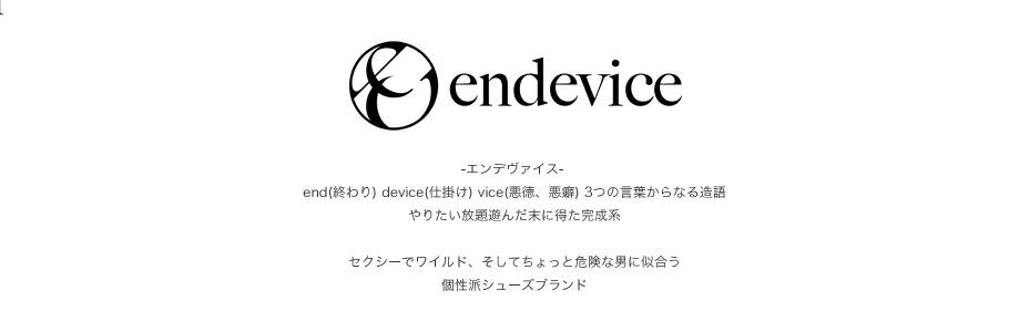endevice -エンデヴァイス-