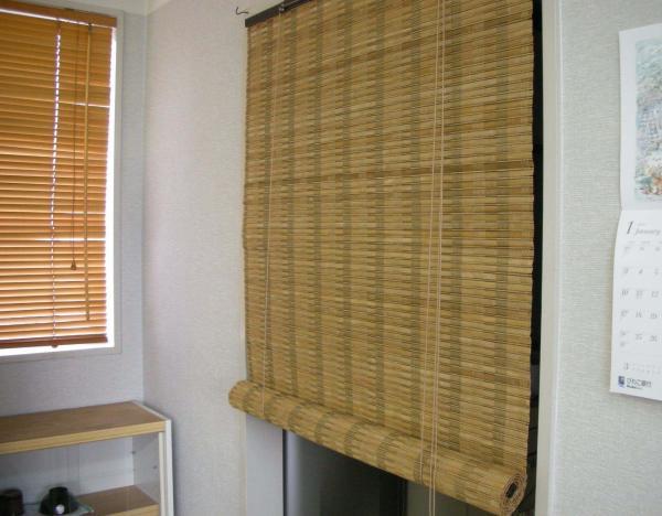 竹子窗帘装修效果图