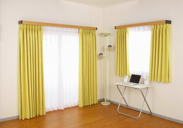 Curtain rod covers