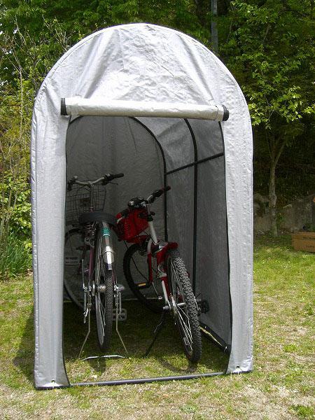 バイクや自転車置き場など様々 ...