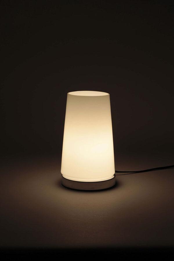Lifetech foods and cosme  라쿠텐 일본: 터치 센서 램프 원통형 화이트 ...