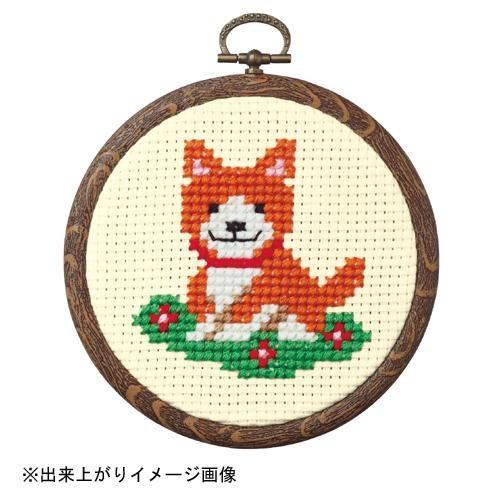可爱的小动物很容易的十字绣