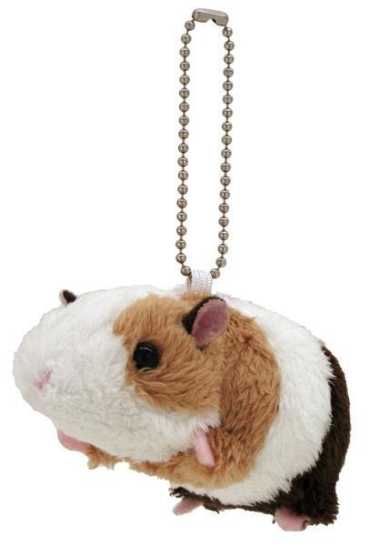 可爱的动物与钥匙串吉祥物