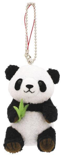 与一个钥匙串吉祥物的可爱动物!