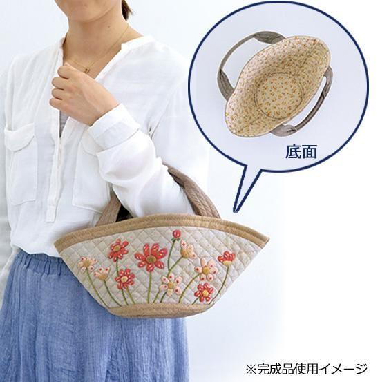 人気作家加藤礼子氏デザイン☆見た目も形もかわいい丸底のバスケット風バッグ... 【楽天市場】オリ