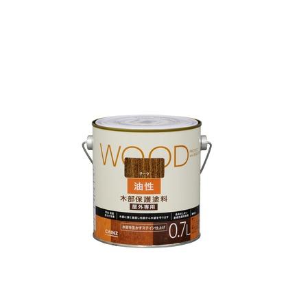 カインズ 油性塗料 木部保護用 チーク 0.7L