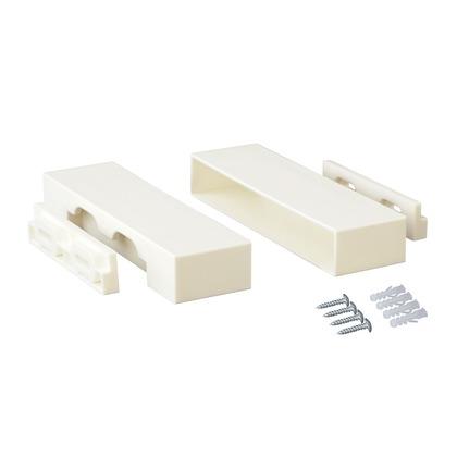 1×6棚受 オフホワイト 4x2.4x14.6cm DXO-32 1 セット