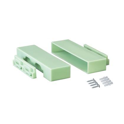 1×6棚受 ウィンテージグリーン 4x2.4x14.6cm DXV-32 1 セット