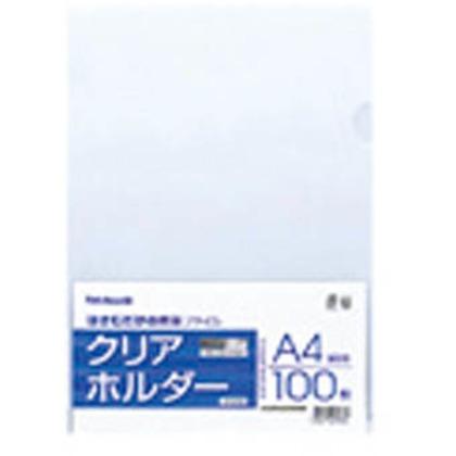 ナカバヤシ クリアホルダ-A4/100枚/クリア CH1036C 100枚