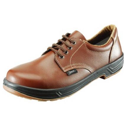 シモン 安全靴短靴SS11茶25.5cm SS11BR-25.5
