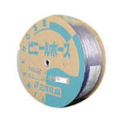 サンヨー 透明ホース8×12100mドラム巻 TM-812D100T