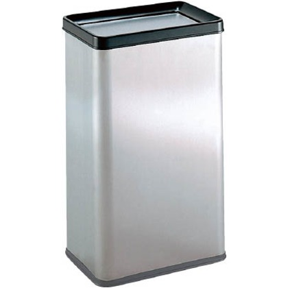 ゴミ箱 ステンエルボックス(ステンフタ) 中缶なし   DS-213-130-0