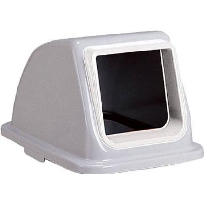 ゴミ箱 エコ分別カラーペール65用蓋(フタ・ふた) プラスチック(オープン) 白  DS-252-314-8
