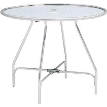 テラモト ガーデンアルミテーブル(組立式) MZ-610-010-0