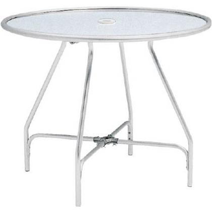 テラモト ガーデンアルミテーブル(組立式) MZ-610-020-0