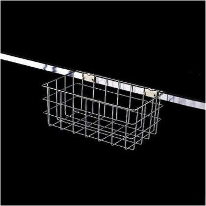 テラモト モップ収納ラック用バスケット中 CE-494-520-0