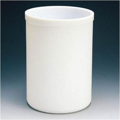 フッ素樹脂(PTFE)蓋付円筒型容器1L   NR0160-007