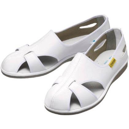ミドリ安全 静電作業靴エレパスクールホワイト21.5CM ELEPASS COOL-21.5