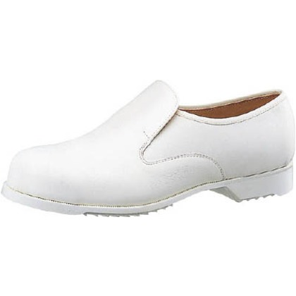 ミドリ安全 白ゴム底安全靴CR7300白静電25cm CR7300S-25.0