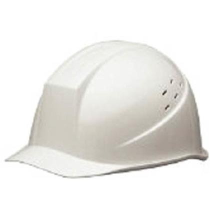 クリーンヘルメットABS製通気孔付   SC-11BVCRA-W